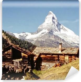 Vinyl-Fototapete Das Matterhorn