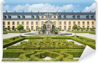 Vinyl-Fototapete Der alte Palast von Herrenhäuser Gärten, Hannover, Deutschland
