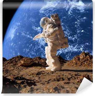 Vinyl-Fototapete Der Astronaut