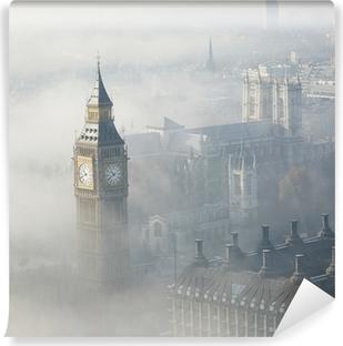 Vinyl-Fototapete Dichter Nebel trifft London