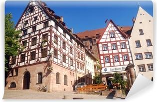 Vinyl-Fototapete Die Altstadt, Nürnberg, Deutschland
