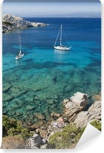 Vinyl-Fototapete Die Bucht von Cala Spinosa in Sardinien