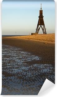 Vinyl-Fototapete Die Kugelbake in Cuxhaven