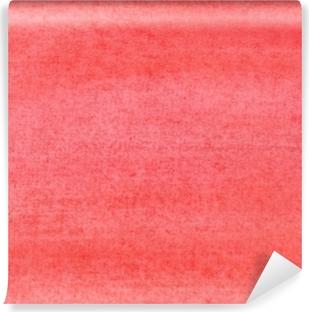 Vinyl-Fototapete Die Textur eines mit roter Farbe bemalten Blattes