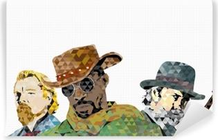 Vinyl-Fototapete Django