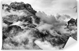 Vinyl-Fototapete Dolomiten