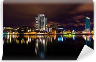 Vinyl-Fototapete Dublin by night