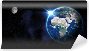 Vinyl-Fototapete Earth from space