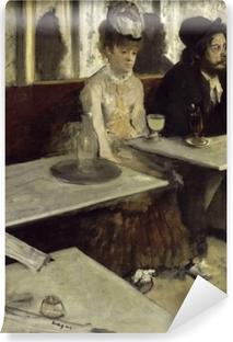 Vinyl-Fototapete Edgar Degas - Der Absinth (In einem Café)