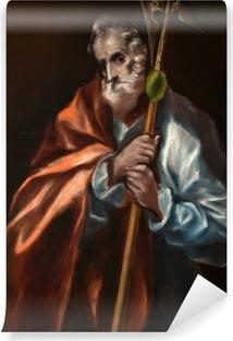 Vinyl-Fototapete El Greco - Der heilige Judas Thaddäus