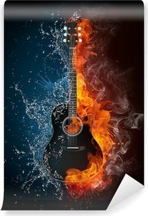Vinyl-Fototapete Electric guitar