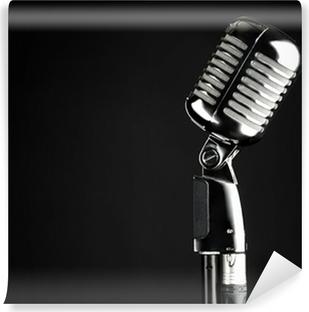 Vinyl-Fototapete Elvis Mikrofon