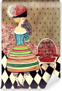 Vinyl-Fototapete Fairy lady