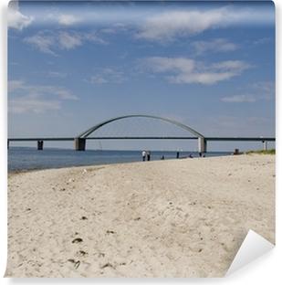 Vinyl-Fototapete Fehmarnsundbrücke