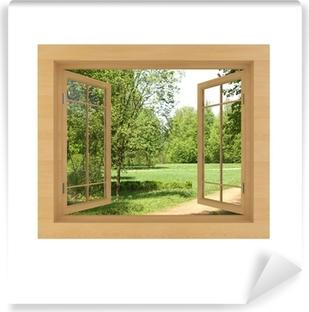 Fototapete Fenster fototapeten fenster zum garten pixers wir leben um zu verändern