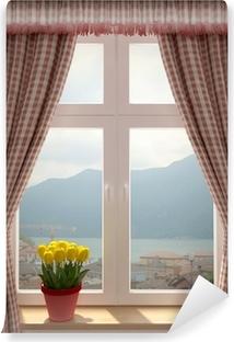 Fototapeten blick durchs fenster pixers wir leben um - Fenster mit aussicht ...