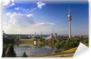 Vinyl-Fototapete Fernsehtum von München im Olympiapark