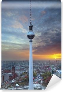 Vinyl-Fototapete Fernsehturm in Berlin