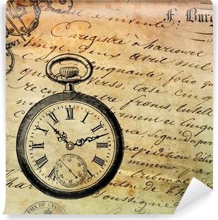 Vinyl-Fototapete Fond montre