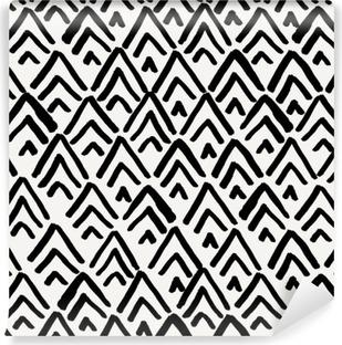 Vinyl-Fototapete Geometrische nahtlose Muster