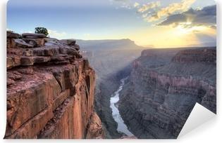 Vinyl-Fototapete Grand Canyon Toroweap Punkt Sonnenaufgang