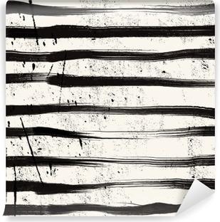 Vinyl-Fototapete Grunge Streifen Hintergrund.