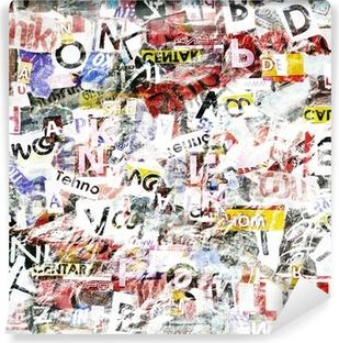 Vinyl-Fototapete Grunge Textured Background