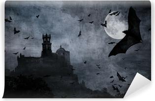 Vinyl-Fototapete Halloween Hintergrund