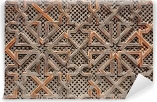 Vinyl-Fototapete Holz-orientalischen Dekoration in Marokko