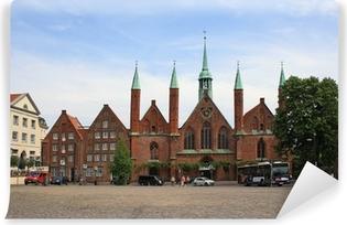 Vinyl-Fototapete Hospital zum Heiligen Geist in Lübeck
