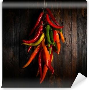 Vinyl-Fototapete Hot pepper