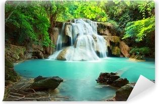 Vinyl-Fototapete Huay Mae Kamin Wasserfall