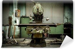Vinyl-Fototapete Industrielle Maschinen in einer Fabrik