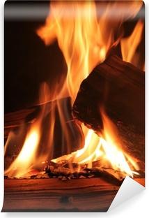 Fototapete Kaminfeuer fototapete feuer glut pixers wir leben um zu verändern