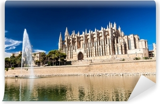 Vinyl-Fototapete Kathedrale von Palma de Mallorca
