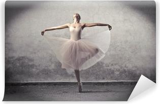 Vinyl-Fototapete Klassische Ballerina