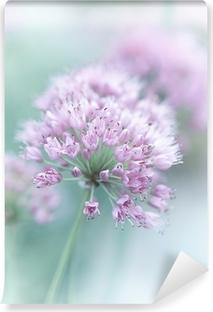 Vinyl-Fototapete Knoblauch Blumen
