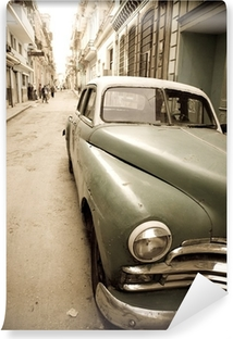 Vinyl-Fototapete Kubanische Oldtimer
