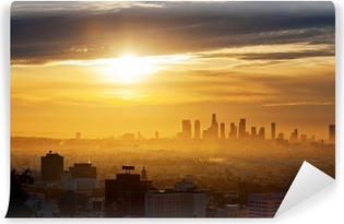 Vinyl-Fototapete Los Angeles sunrise