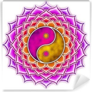 Vinyl-Fototapete Lotus Yin Yang