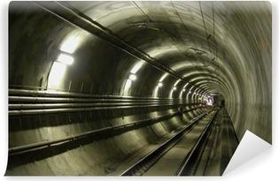 Vinyl-Fototapete LRT Tunnel