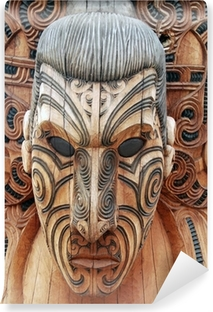 Vinyl-Fototapete Maori 1