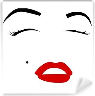 Vinyl-Fototapete Marilyn monroe