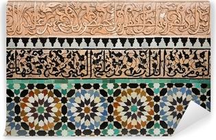 Vinyl-Fototapete Marokkanischen Kacheln