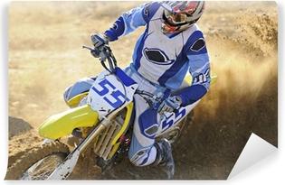 Vinyl-Fototapete Motocross 55