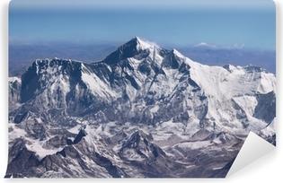 Vinyl-Fototapete Mount Everest - Gipfel der Welt (von Flugzeug)