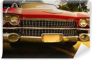 Vinyl-Fototapete Muscle car