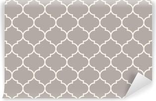 Vinyl-Fototapete Nahtlose Anthrazitgrau breit marokkanisch Muster Vektor