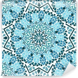 Vinyl-Fototapete Nahtlose Muster der marokkanischen Mosaik