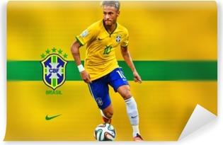 Vinyl-Fototapete Neymar